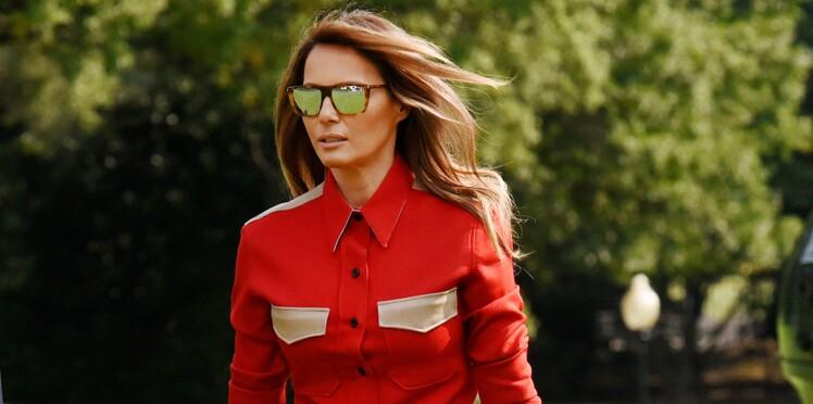 Melania Trump comparée à l'extraterrestre Diana de la série V