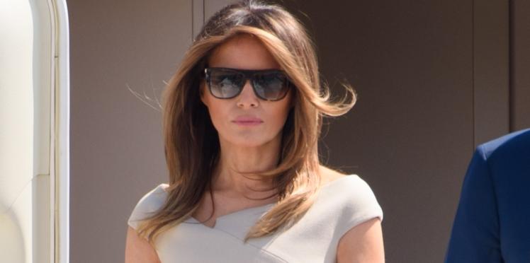 Melania Trump : quand sa robe rappelle celle d'une princesse Disney...