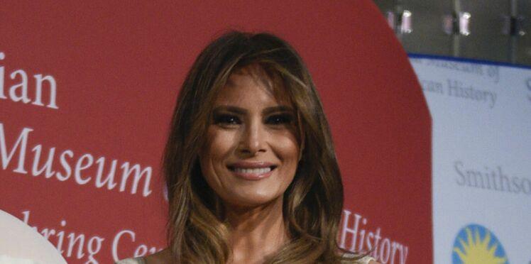 Melania Trump : une de ses robes rentre dans l'Histoire Américaine !