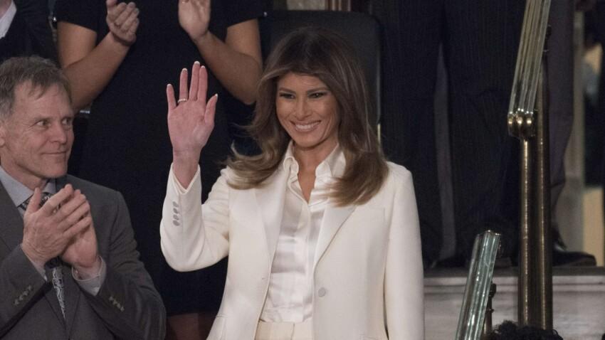 Melania Trump surprend dans un look sporty cool de Miss America