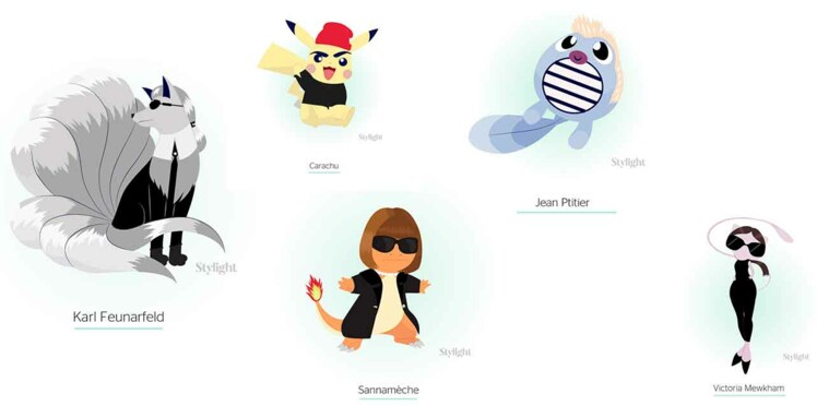 En mode Pokémon avec Stylight !