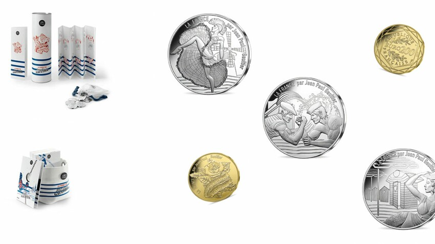 Jean Paul Gaultier signe les nouvelles pièces de la Monnaie de Paris