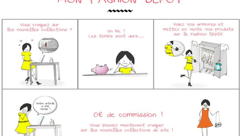"""Monshowroom.com lance """"Mon Fashion Dépôt"""" !"""