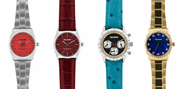 Nostalgie horlogère chez Zadig & Voltaire