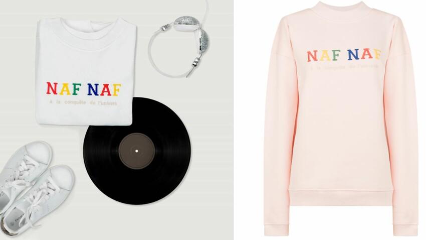 Naf-Naf réédite un sweat vintage