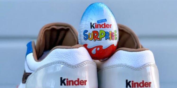 Arrêtez tout : Nike sort des baskets Kinder Bueno et on adore !