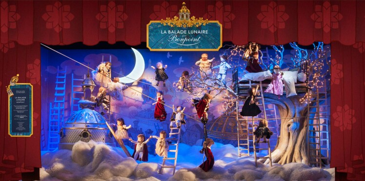 La magie de Noël installée au Printemps de Paris