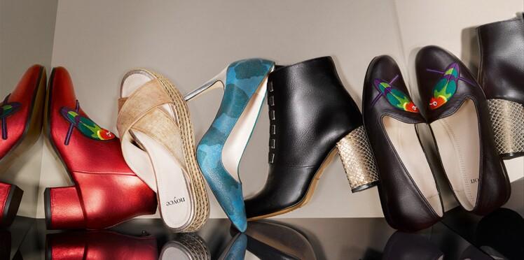 41518e70b1 Eram lance Noyce : une ligne de chaussures premium : Femme Actuelle ...