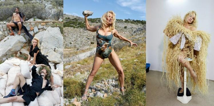 Pamela Anderson prend la pose pour Vivienne Westwood