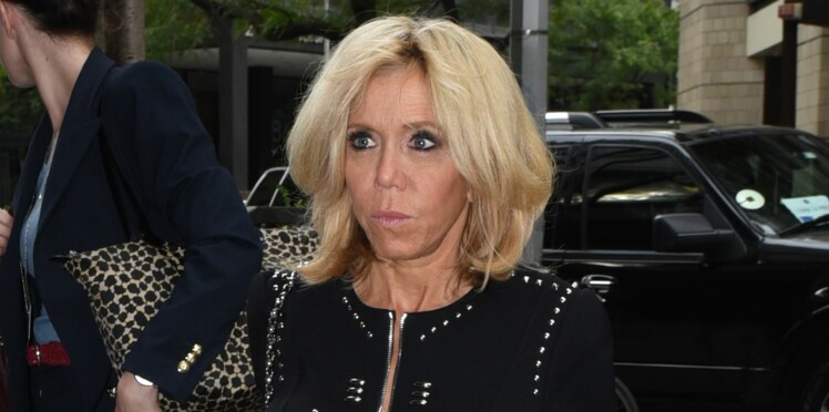 Photo - Brigitte Macron ose une robe très sexy à New York