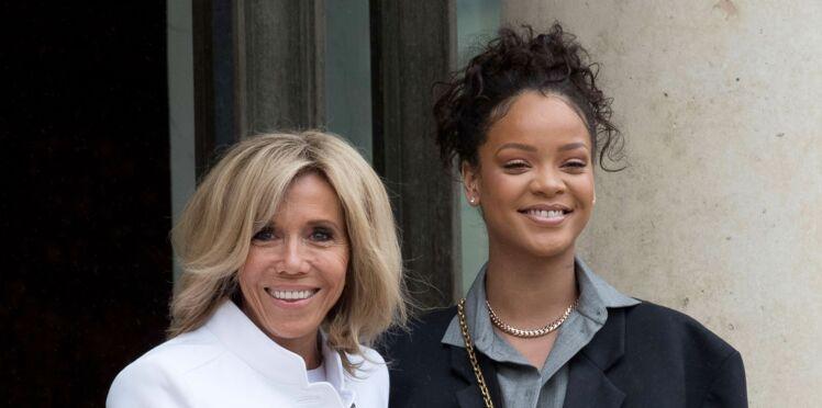 Photos - Brigitte en tenue décontractée et Rihanna en smoking oversize