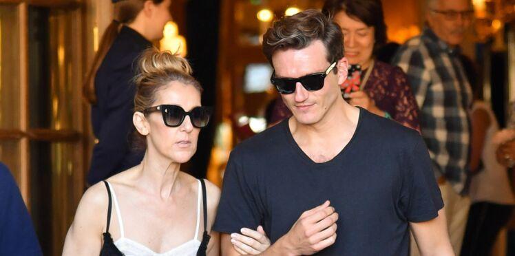 Photos - Céline Dion ose la robe esprit lingerie pour son shopping avec Pepe