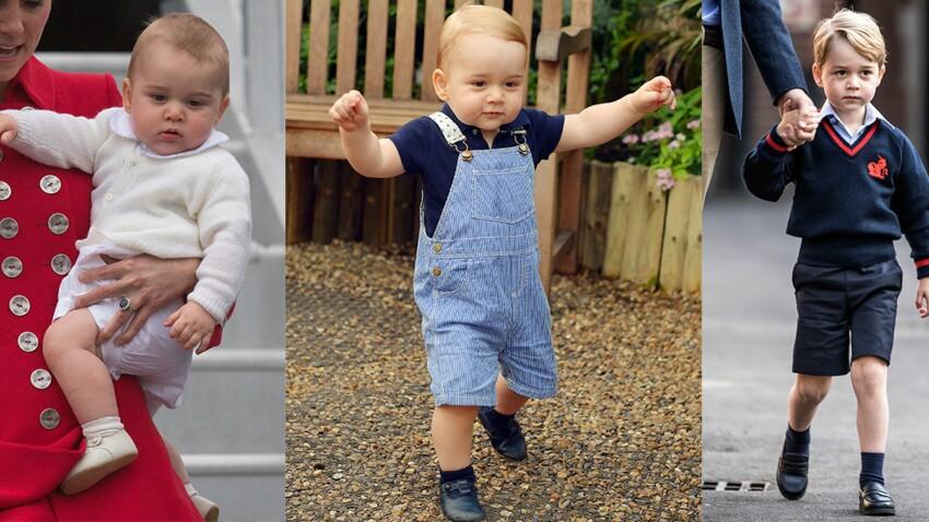 Photos : Prince George, 4 ans, et des tenues plus adorables les unes que les autres