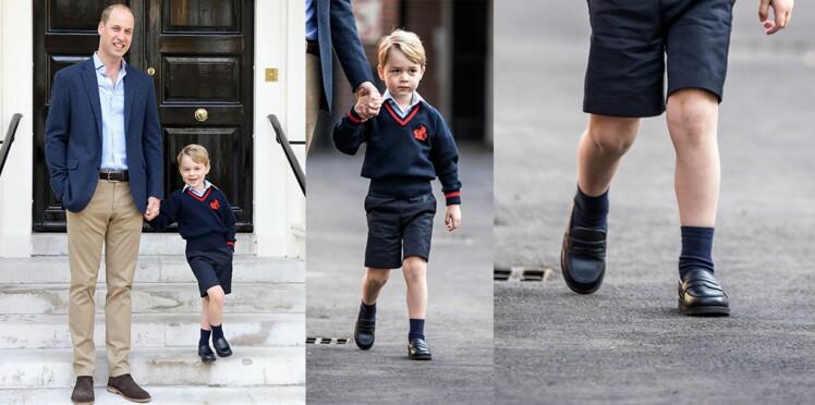 Tout le monde veut les mocassins du prince George mais ils sont sold out !