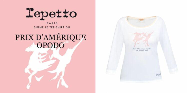 Repetto signe le t-shirt du Prix d'Amérique Opodo 2016