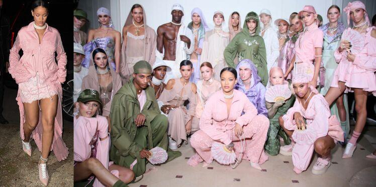 Fashion week : Rihanna fait le show pour Puma