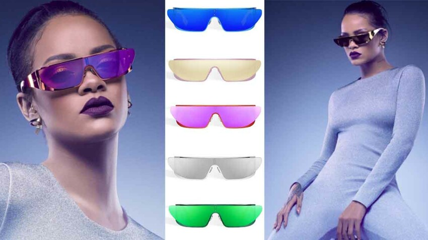 Les lunettes Rihanna de Dior