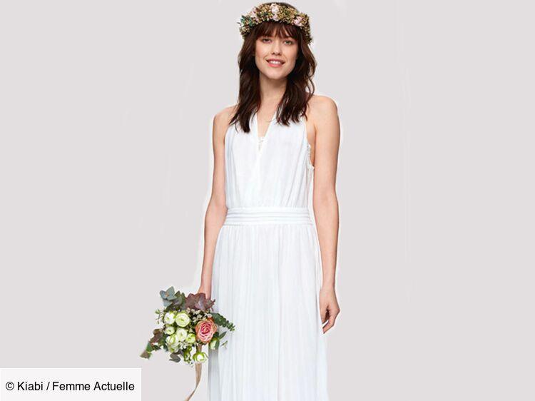 Flore La Robe De Mariee Signee Kiabi Femme Actuelle Le Mag