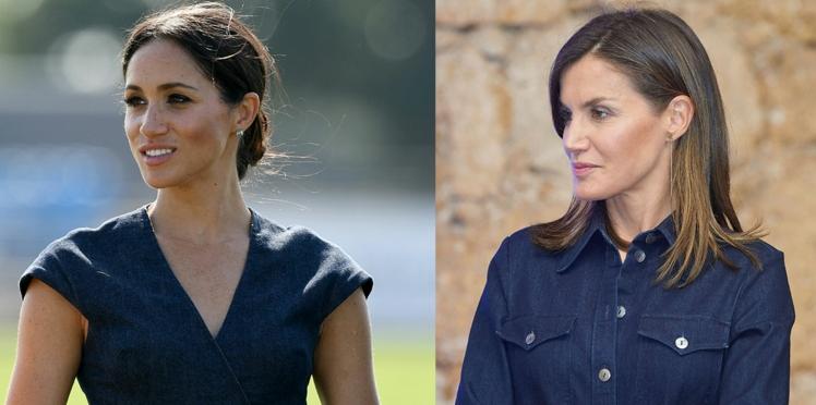 Duel mode : qui de Meghan Markle et de Letizia d'Espagne porte le mieux la robe en jean ?