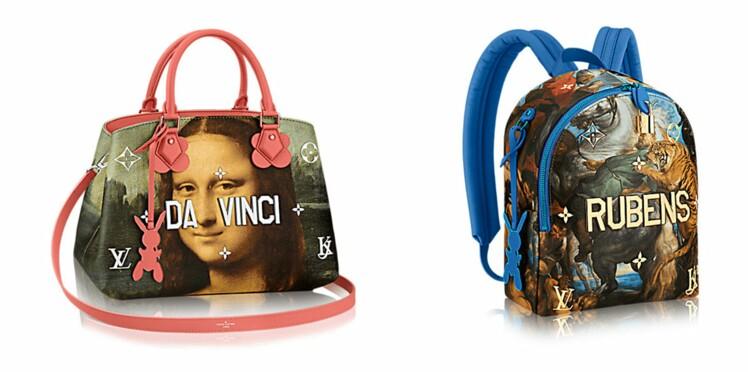 Louis Vuitton et Jeff Koons : une collaboration provoc'