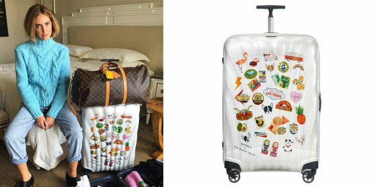 Samsonite x Chiara Ferragni : une valise qui fait voyager
