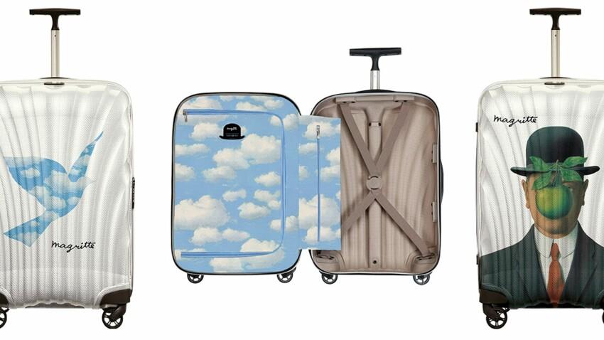 Samsonite lance la valise Magritte
