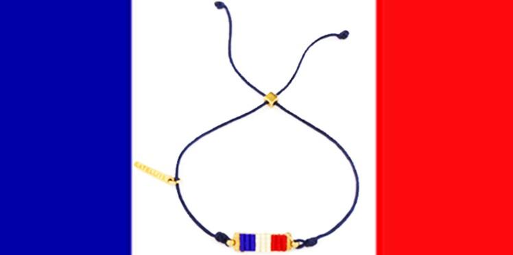 "Satellite : un bracelet ""Bleu Blanc Rouge"""