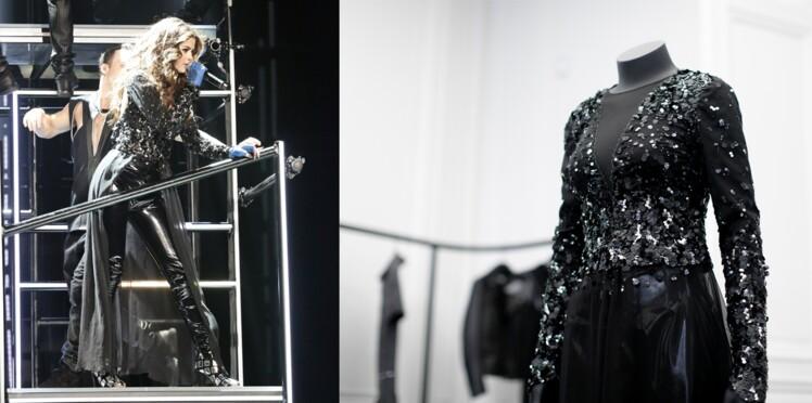 Les dessous du costume de Selena Gomez signé Karl Lagerfeld !