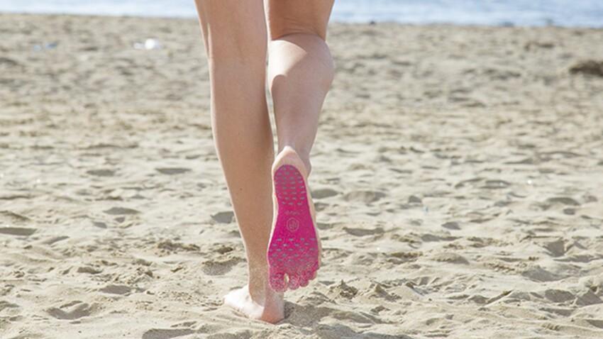 Des semelles pour marcher pieds-nus vont bientôt remplacer vos sandales