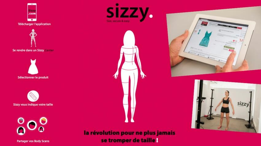 Sizzy : l'assitant de sélection de taille