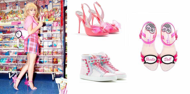 Les chaussures de Barbie à taille humaine !