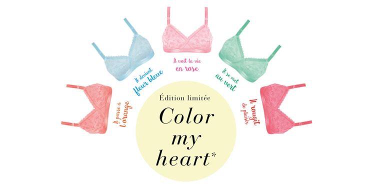 Coeur Croisé de Playtex : des couleurs acidulées en édition limitée !