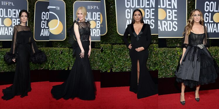 Pourquoi toutes les stars étaient en robes noires au Golden Globes ?