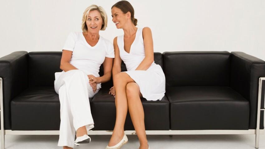 Style : Et si mère et fille mettaient leur dressing en commun ?
