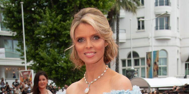 Photos - Sylvie Tellier, enceinte, elle affiche un ventre très rond dans une sublime robe de princesse à Cannes