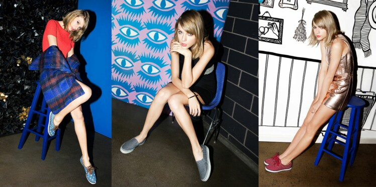 Taylor Swift : égérie des sneakers Keds