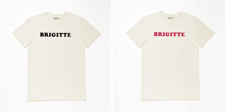 Wanted : le tee-shirt « Brigitte », clin d'œil mode à la macronmania !