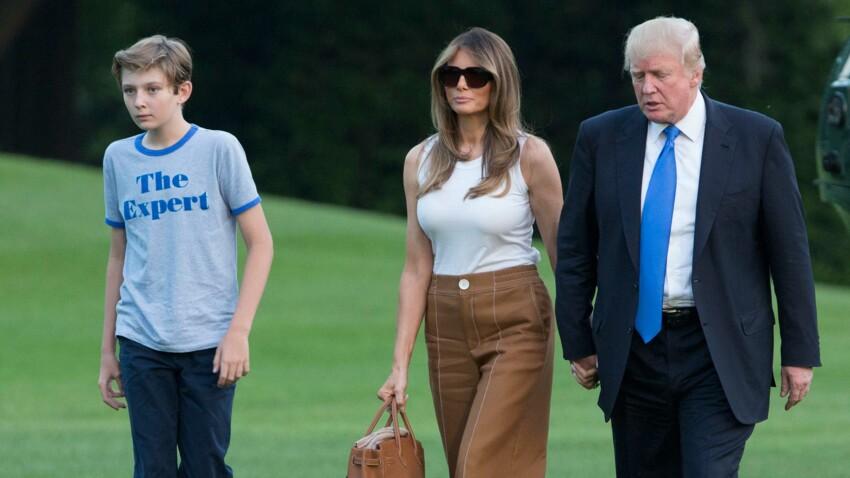 Le tee-shirt de Barron Trump, 11 ans, fait fureur