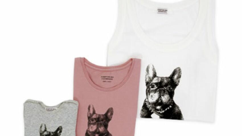 Tee-shirt fashion pour bonne action