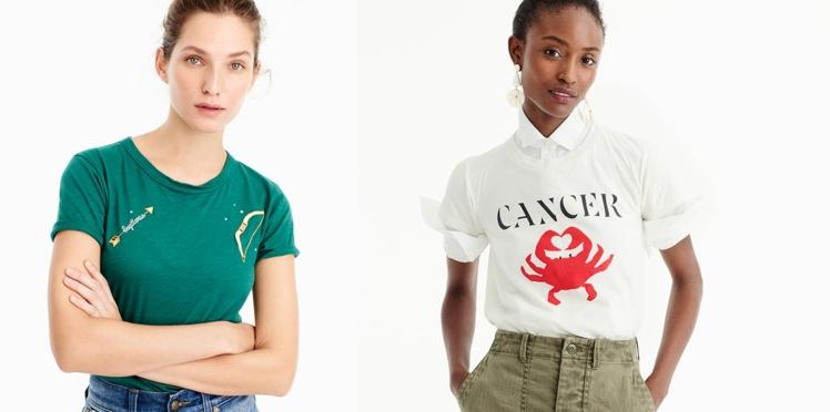 Alerte mode : on veut les tee-shirts horoscope de J.Crew !