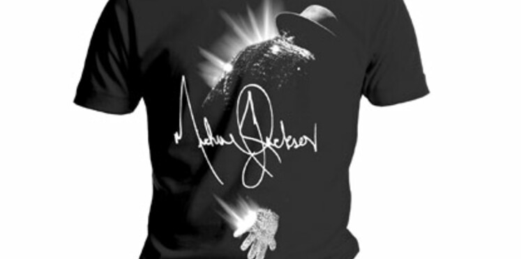 Michael Jackson revient en T-shirts le 28 octobre