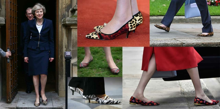 Buzz : les chaussures de Theresa May
