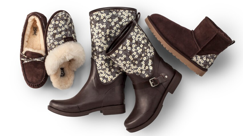 Une collection capsule UGG x Liberty