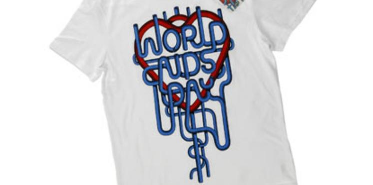 Un tee-shirt Levi's contre le sida