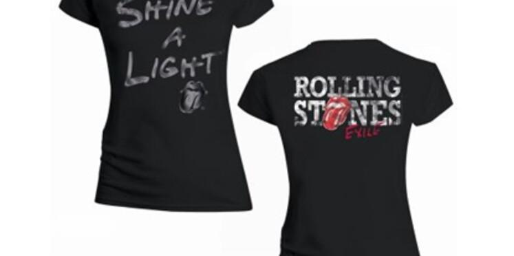Une ligne de tee-shirts à l'effigie des Rolling Stones