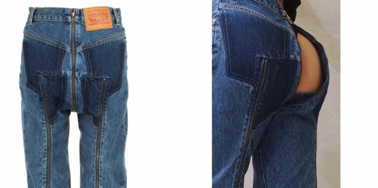 Levi's x Vetements : un jean culotté