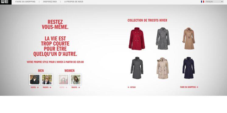 WE Fashion étend l'accès de sa boutique en ligne à la France