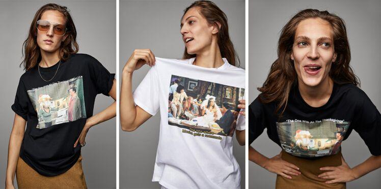 Friends : Zara rend hommage à la série culte avec une collection de tee-shirts
