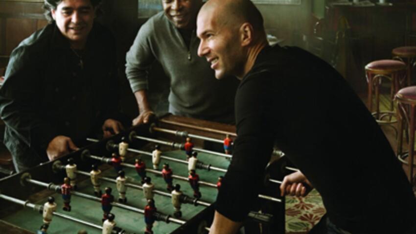 Zidane, Pelé et Maradona réunis pour Louis Vuitton
