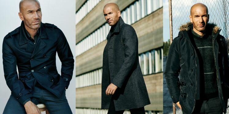 Zinédine Zidane : égérie Mango Man pour la campagne automne-hiver 2015-2016